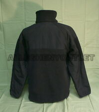 Made in USA PolarTec 300 Cold Weather Military Fleece Jacket Black MEDIUM VGC