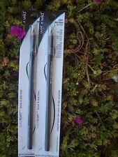 2 WET & WILD COLOR ICON EYE LINER & BROW PENCIL, #C651 BLACK  BLACK