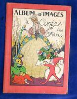 IMAGES D'ÉPINAL. Album d'Images Contes des fées. Imagerie Réunies Jarville-Nancy