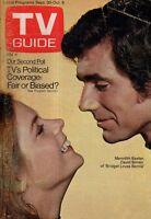 1972 TV Guide September 30 - Meredith Baxter loves Bernie;Nicole morin;Hot pants