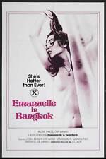 EMANUELLE IN BANGKOK Movie POSTER 27x40 Laura Gemser Gabriele Tinti Ely Galleani