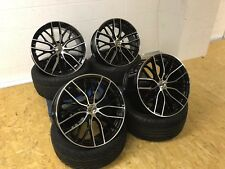 "19"" 405 SPORT ALLOY WHEELS & TYRES BMW 3 SERIES 4 SERIES 5 SERIES Z4 BLACK POL"