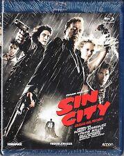 SIN CITY de Rodriguez y Tarantino.  Blu-ray. Tarifa plana (España) en envío, 5 €