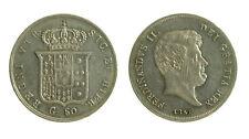101) Napoli Due Sicilie Ferdinando II (1830-1859) Mezza Piastra 60 grana 1859