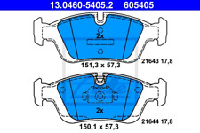 Bremsbelagsatz, Scheibenbremse für Bremsanlage Vorderachse ATE 13.0460-5405.2