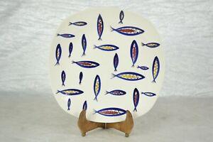 Vintage Midwinter Stylecraft Jessie Tait Fish Plate 25cm