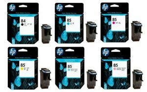 GENUINE HP84 / HP85 PRINTHEADS, CHOICE OF 6 COLOURS IN LOT - SWIFTLY POSTED