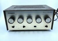 MONARCH Single-Ended Stereo Vacuum Tube Amplifier - Vintage - Made in Japan
