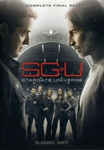 SGU STARGATE UNIVERSE: COMPLETE FINAL SEASON (5PC) NEW DVD