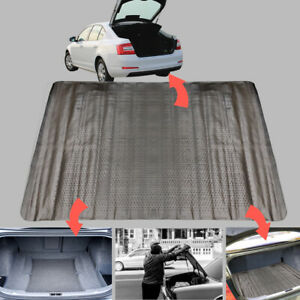Universal Fit Car Boot Mat Rubber Non Slip Protector Lightweight Cut To Size