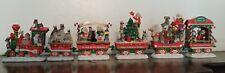 Danbury Mint Miniature Schnauzer Christmas Express Train Collectible Decoration