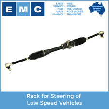 Steering Rack for Low Speed Vehicles