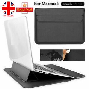 For Apple Macbook Air/Pro/Retina 13.3 Stand Cover Leather Case Laptop Sleeve Bag