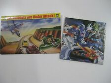 "TRANSFORMERS G1 ""Glow-in-the-dark poster/ checklist/ lot b"