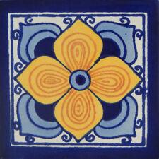 100 Mexican Talavera Decorative Handmade Tiles Folk Art C115