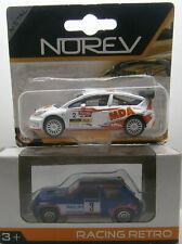 LOT . RENAULT 5 TURBO . CITROEN C4 WRC  . NOREV . 3 INCHES