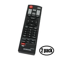 2-Pack Replacement for RC-AKB73575401 Remote Control Works with LG NB2420A