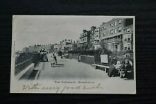 More details for postcard the esplanade broadstairs kent posted c1902 valentines series