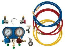 """A/C Manifold Test and Gauge Kit w89730 w/ 50"""" hose length and brass fittings"""