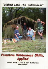 DVD328 Primitive Wilderness Skills Applied by John McPherson noted survialist