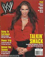 WWE Wrestling Magazine Holiday 2002 Stephanie McMahon No Poster WWF