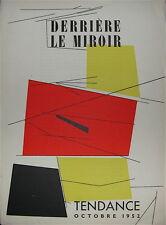 Debré, Degottex, Kelly, Pallazuelo Textes de Michel Seuphor 1952 Art Abstrait