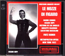 MOZART Le nozze di Figaro Cesare Siepi Victoria de Los Angeles FRITZ REINER 2CD