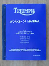 99-0948 TRIUMPH UNIT 350cc 500cc 3TA 5TA T90 T100 1963on GENUINE WORKSHOP MANUAL