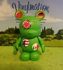 "DISNEY Vinylmation 3"" Park Set 1 Epcot Holidays Around the World Country Flags"