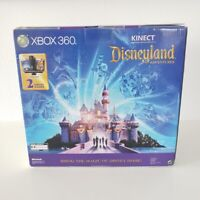 Xbox 360 4GB Kinect Console Disney Adventures Disneyland Edition FACTORY SEALED!
