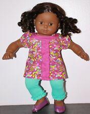 American Girl BITTY BABY AFRICAN AMERICAN BLACK TWIN GIRL DOLL Butterfly Tunic