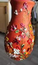 oil painting vase floral