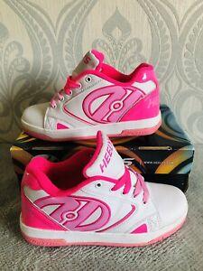 Heelys Size UK 5 Pink/White