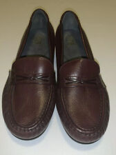 SAS Tripad Comfort Slip On Brown Leather Loafers 7.5 W