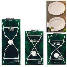 Heavy Duty Plate Platter Hanger White SUPER STRONG Small Medium Large Tripar