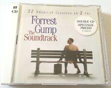 FORREST GUMP O.S.T. 32 TRACCE IN 2 CD OTTIMO COLONNA SONORA SOUNDTRACK FILM