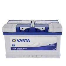VARTA BLUE DYNAMIC 80-AH 12V AUTOBATTERIE STARTERBATTERIE BATTERIE 31531687