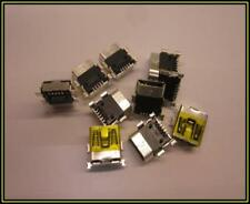 Mini USB 5 pin tipo B hembra Plug Jack navegación Connector adaptador 2 trozo