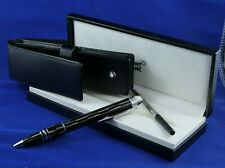 Montblanc StarWalker Collection Mystery Black Laser-Etched Ballpoint Pen 104227