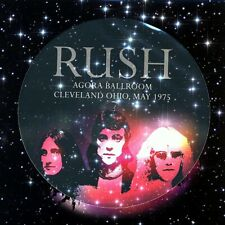 Rush Agora Ballroom May 1975 Picture Disc LP ~ 180g ~ Brand New!!!
