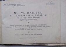 NUOVA MANIERA DI DISEGNARE ALLA LAVAGNA Francesco Ghirotti Marzari 1882 da per