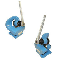 Mini Hand Manual Rotary Sheet Metal Shear Throatless Plate Cutter Cutting 2mm