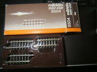 Märklin Z 8504  gerade Gleis 25 mm   10 Stück    Neuware. OVP           Konvolut