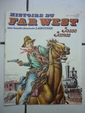 HISTOIRE DU FAR WEST NUM  20  / MARCELLO /   JESSE JAMES