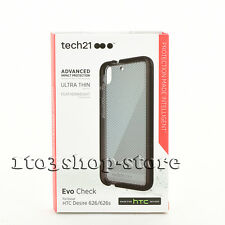 Tech 21 Classic Mesh Soft Thin Case Cover for HTC Desire 626s/626 Smoke Black