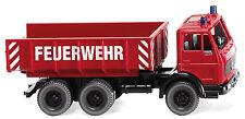 Wiking 062403 H0 1:87 Feuerwehr - Schuttwagen (MB) 8-2017 Neu in OVP