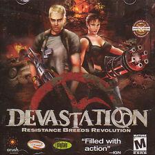 DEVASTATION Resistance Breeds Revolution Action Shooter PC Game NEW - SEALED!