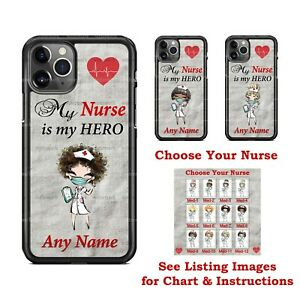My Nurse is My Hero Health Design Phone Case Cover for iPhone Samsung LG