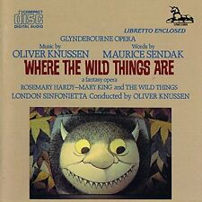 KNUSSEN, OLIVER-Where The Wild Things Are - London Sinfoniet (UK IMPORT)  CD NEW
