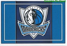 195 TEAM LOGO USA DALLAS MAVERICKS STICKER NBA BASKETBALL 2017 PANINI